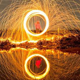 by Bangun Usahari - Abstract Light Painting