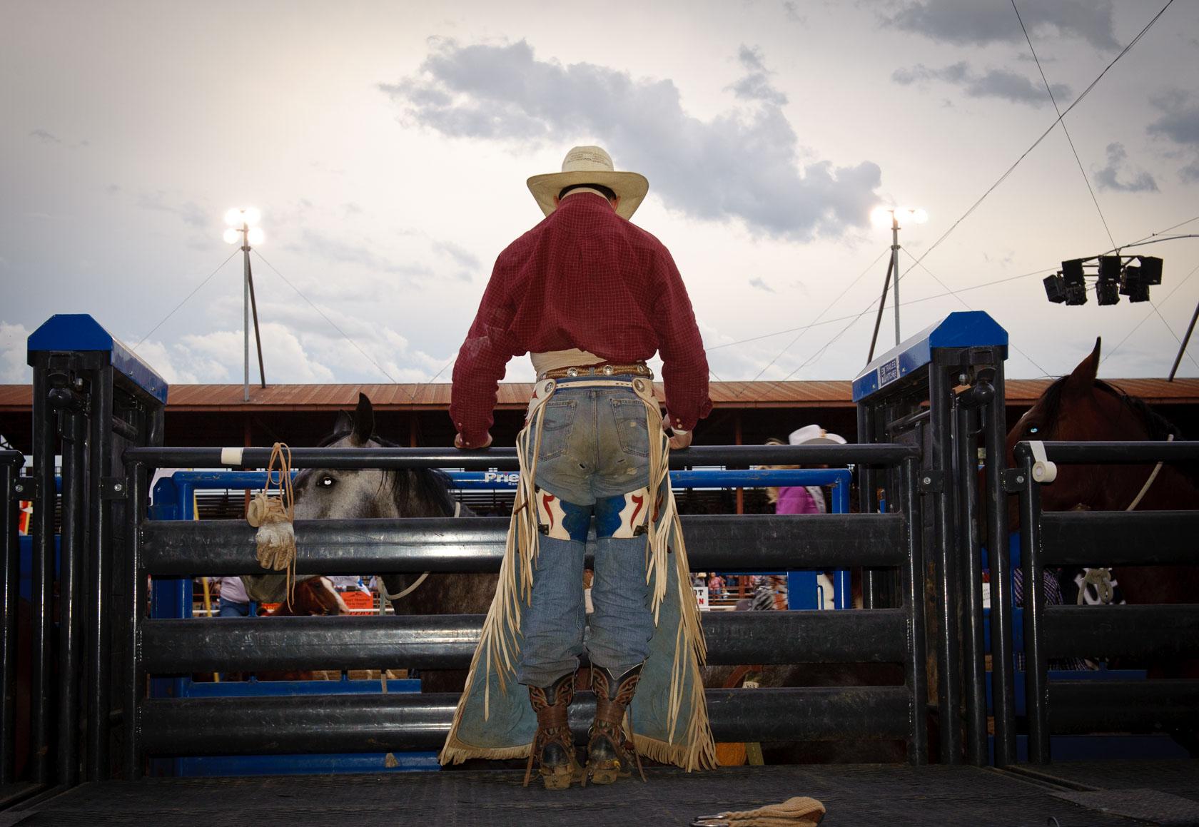 Bronc Rider, Cody, Wyoming