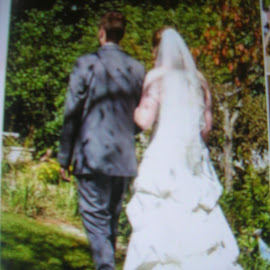 Married by Linda McCormick - Wedding Bride & Groom ( life, here we go, happy, weddings, bliss )