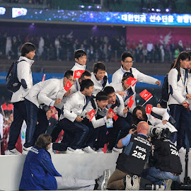 Opening Ceremony  by Ramsey Pui - Sports & Fitness Surfing ( asian games, hongkong, incheon, sport, korea )