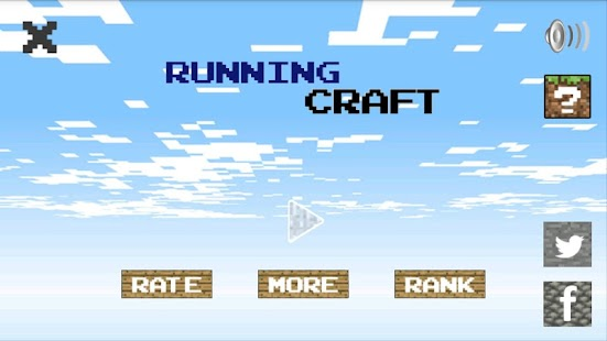 Running Craft - screenshot