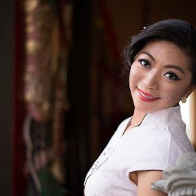 Chinese New Year 2014 by Criz Kimbal - People Portraits of Women