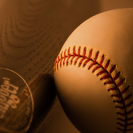 The Greatest Game by Scott Geffre - Sports & Fitness Baseball ( baseball, pastime, outdoor, sports, summer, bat, game )