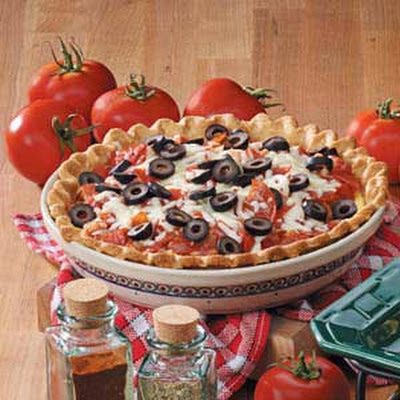 Pepperoni Pizza Quiche