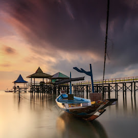 The Boat by Efraim Dastanta Ginting - Transportation Boats