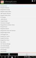 Screenshot of TV Bengali Open Directory