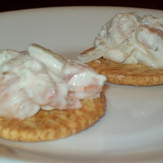 Seafood on a Cracker (Appetizers)