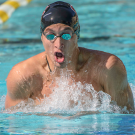 In the lead by Matt Folsom - Sports & Fitness Swimming