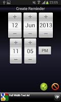 Screenshot of Voice Agenda Reminder