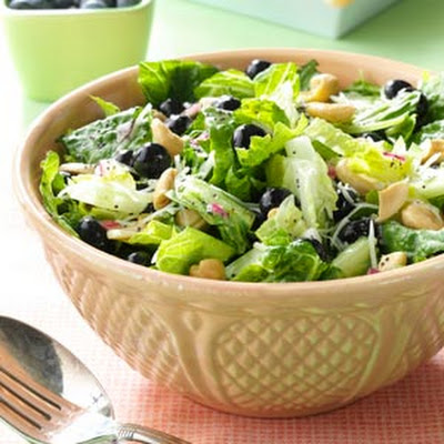 Blueberry Romaine Salad