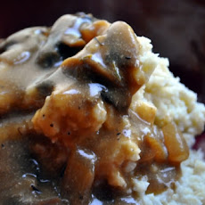 Mashed Potatoes with Organic Mushroom Gravy