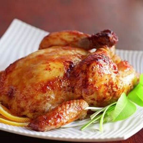 Miso-Glazed Roast Chicken