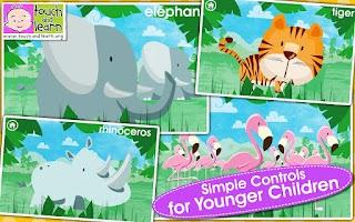 Screenshot of Peekaboo Zoo