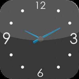 To use: home- long press- widgets- transparent clock