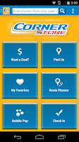Screenshot of Corner Store Finder