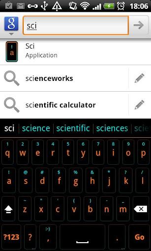 Sci - HD Keyboard Theme