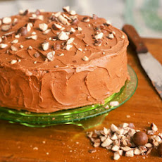 Malted-Milk Chocolate Cake