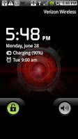 Screenshot of Droid X Eye Live Wallpaper