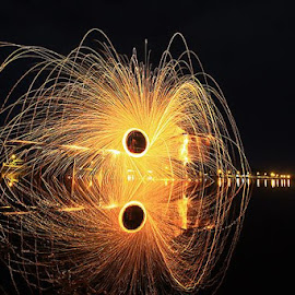 by Supri Ucup - Abstract Light Painting