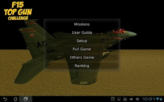 Screenshot of F15 Flying Battle