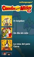 Screenshot of Cuentos para Niños 2