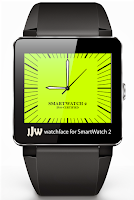 Screenshot of Square Clock1 for SmartWatch 2