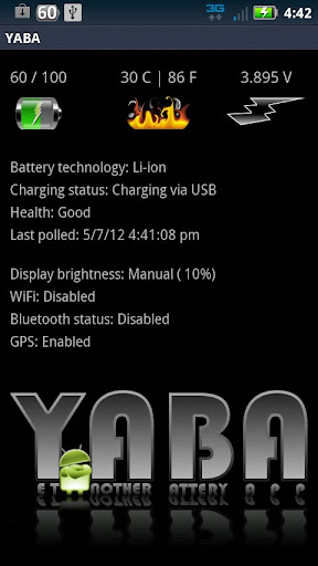 Yet Another Battery App