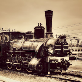Old Train  by Nenad Milic - Transportation Trains