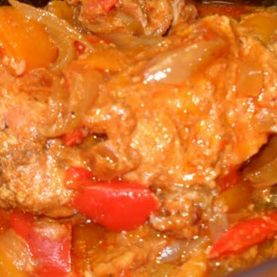 Brazilian Curry Chicken