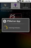 Screenshot of PSNation RSS