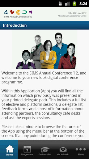 SIMS Annual Conference 2012