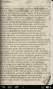 Sense and Sensibility - eBook - screenshot