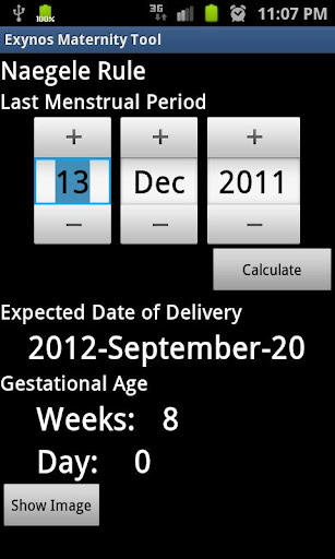 【免費醫療App】Exynos Pregnancy Calculator-APP點子