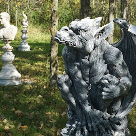 Gargoyle by Jim Czech - Artistic Objects Other Objects ( sculpture, statue, art, gargoyle, artistic objects )