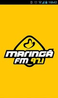 Screenshot of Rádio Maringá FM