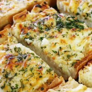 Creamy Garlic Cheese Bread Recipes