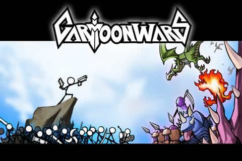 cartoon-wars for android screenshot