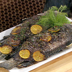 Roasted Black Sea Bass
