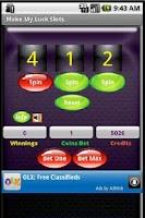 Screenshot of Make My Luck Slots