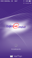 Screenshot of Bajionet Móvil