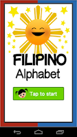 Screenshot of Filipino Alphabet