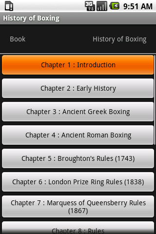 History of Boxing