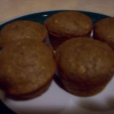 Whole Foods Whole Wheat Pumpkin Muffins