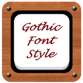 Free Download Gothic Font Style APK for Samsung