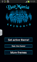 Screenshot of Batmania Keyboard