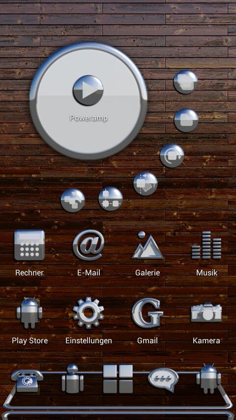 OSLO Next Launcher 3D Theme Screenshot 1
