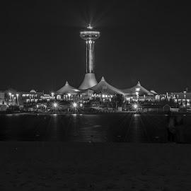 Marina Mall by Bryan Bryx Vargas - City,  Street & Park  Markets & Shops ( water, night, beach, cityscape, light, city, mall )