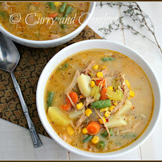 Chicken Pot Pie Chowder