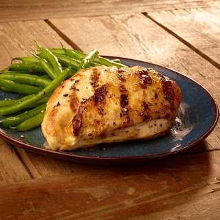 Tim Love's Grilled Parmesan and Shallot Chicken