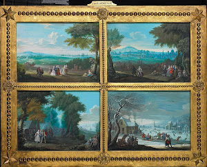 RIJKS: Jacques-Guillaume van Blarenberghe, Louis Nicolas van Blarenberghe, anoniem: painting 1745